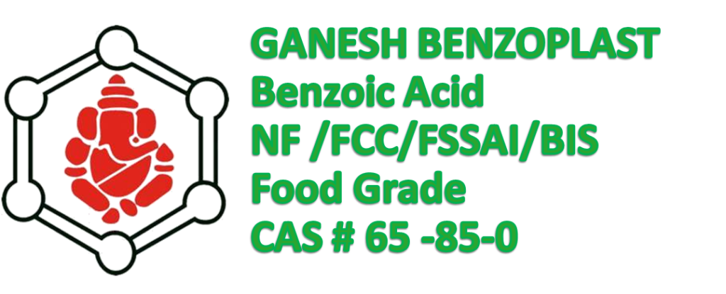 food-grade-benzoic-acid, fssai-approved-benzoic-acid,benzoic-acid,benzoic-acid NF, benzoic-acid FCC, benzoic-acid FSSAI, benzoic-acid BIS, benzoic-acid-Food-chemical-codex,GBL,Ganesh,Ganesh-Benzoplast,Benzoic-acid,ganesh-group,benzoic-acid-for-pharmaceutical-therapeutics,benzoic-acid-for-food,benzoic-acid-for-preservation,manufacturer-of-benzoic-acid-in-india,manufacturer-of-benzoic-acid-food-grade,manufacturer,supplier,exporter-of-benzoic-acid,antifungal-agent,anti-microbial-agent,Benzoic-acid-for-drink,65-85-0